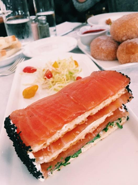 Salmon Millefeuille
