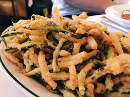 Zucchini fritti