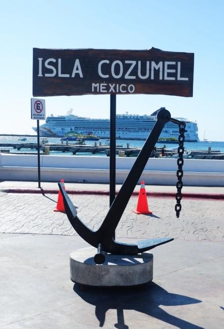 Trip to Cozumel island