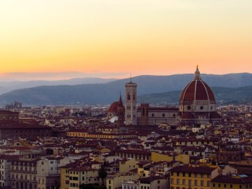 Florence Sunset Duomo